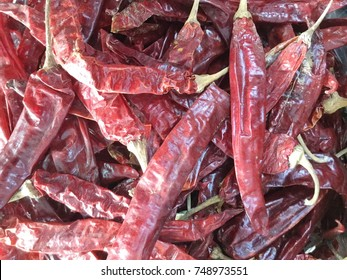Red hot chilly peper background, dry pepers