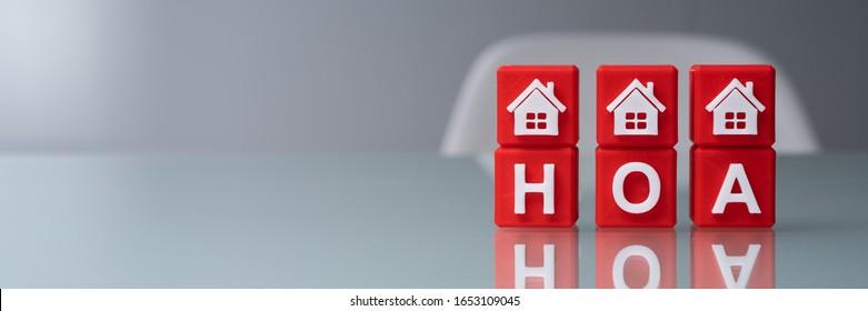 Red House Blocks Over Homeowner Association Blocks
