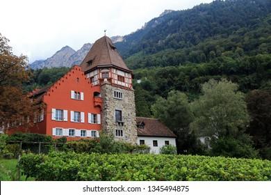The Red House, Vaduz, Liechtenstein