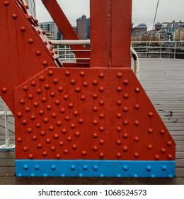 Red, Iron bridge