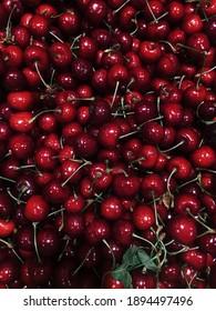 Red juicy Cherry Vitamin Fruit
