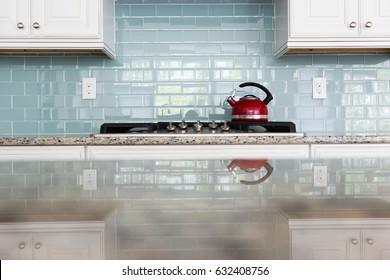 red kettle kitchen