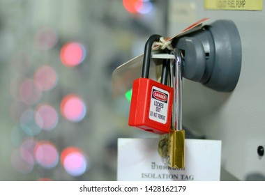 Lock Out Tag Out Images Stock Photos Amp Vectors Shutterstock