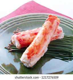 Red king crab's legs