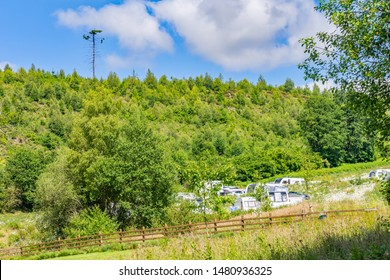 Red Kite Campsite, Llanidloes, Wales. A campsite for touring caravans, motorhome and campervans exploring mid-Wales, UK