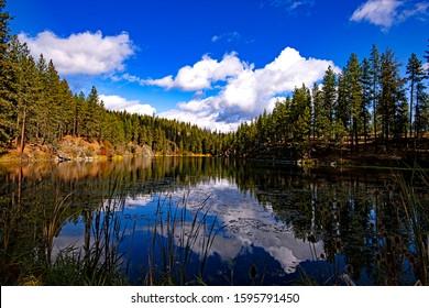 Red Lake Near Spokane Washington