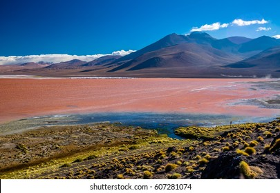 Red Lake Potosi  Bolivia