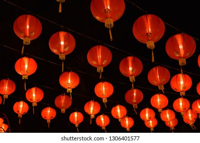 Red Lantern, Chinese New Year Festival in Thailand