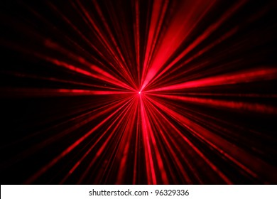 red laser disco