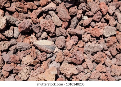 Red Lava Rocks for landscaping and xeriscaping