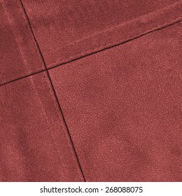 red leather texture,seams.Can be used as background
