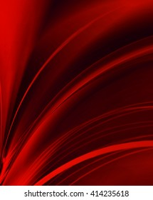 red lighs wave abstract background