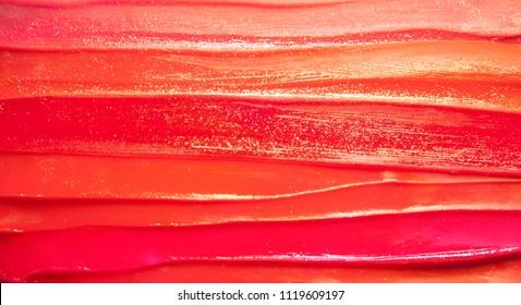 Red lipstick background