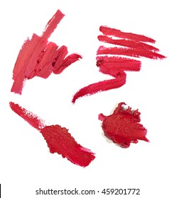 Red Lipstick Smudges
