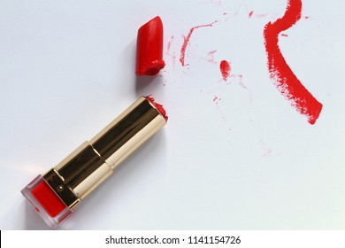 Red lipstic,Red lipstick Water