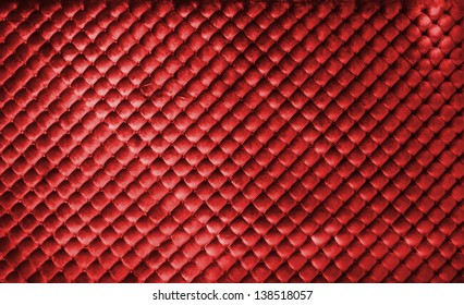 Red luxury leather buttoned background