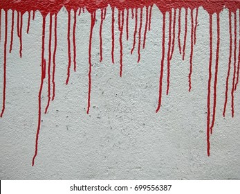 Red malted paint