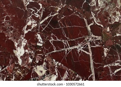 Red marble. Texture.