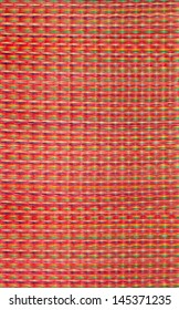 Red mat texture background