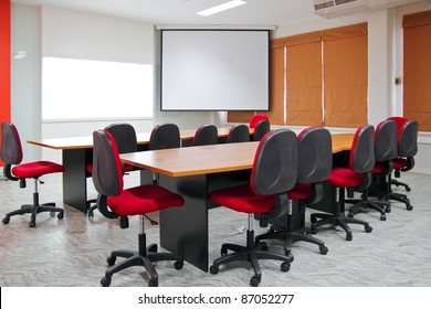 Red Meeting room.