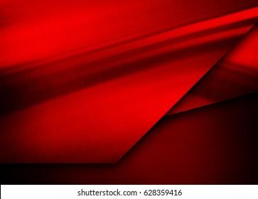 red metal design background