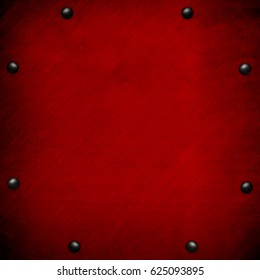 red metal template background