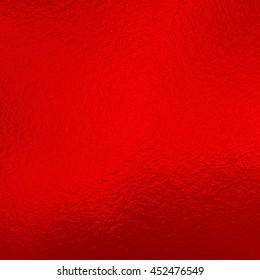 Red metallic foil