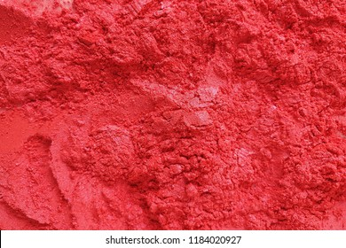 Red mica pigment powder cosmetics