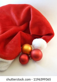Red mitre and baubles