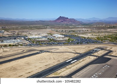 Red Mountain from Falcon Field in Mesa, Arizona