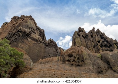 Red Mountain landscapes in Northern Arizona