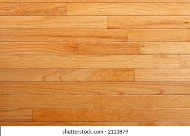 Red Oak flooring with factory finish (topaz color) large field view