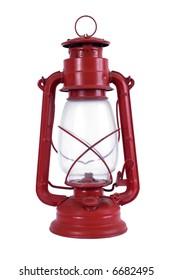 Red oil lamp
