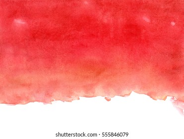 red and orange watercolor background