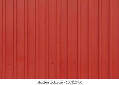 red orrugated steel sheet