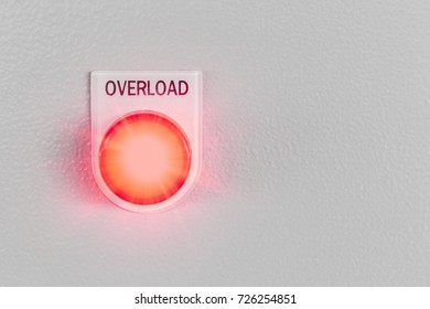red overload button light switch