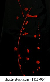 Red Paint Splat