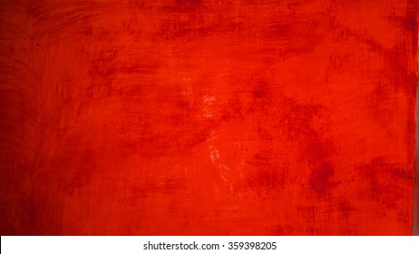 red paint texture on background
