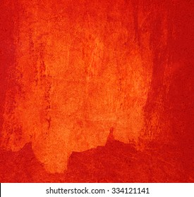 Red painted wall background