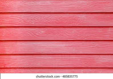 red painted wood grain fiber cement board texture background