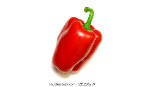 Red paprika,Capsicum annuum