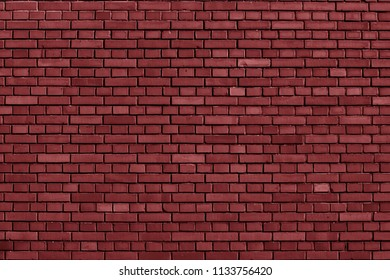 Red Pear colored brick wall background