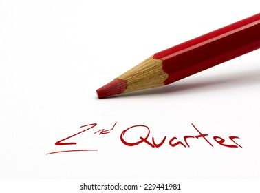 Red pencil - 2nd Quarter