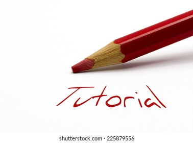 Red pencil - Tutorial