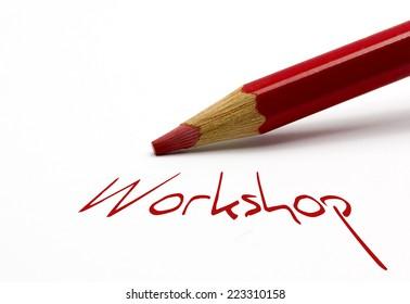 Red pencil - Workshop