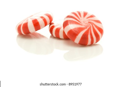Red peppermints.