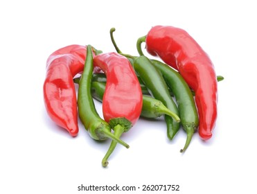 Red peppers and chili peppers