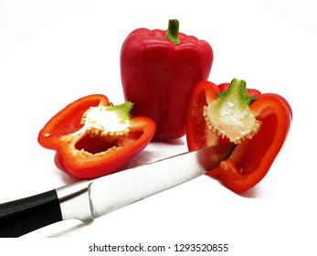 Red peppers cut free performers