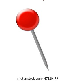 red pin