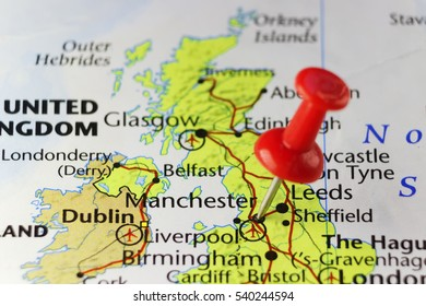 Map Of England Manchester.Manchester Map Images Stock Photos Vectors Shutterstock